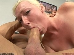 Tegan Riley unfathomable face holes a ding-dong for the 1st time