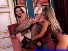 Eve Angel and Aleska Diamond in lingerie