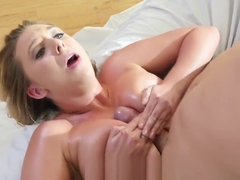 Natural busty Brooke Wylde arousing her boyfriend