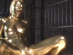 Gold Bodypaint