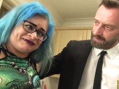 Caitlin Minx gives her cunt to him for cum