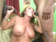 Double Chocolate-Stuffed Milf - Luna Azul, Lucas Stone, And Piper Slaye - 60PlusMilfs