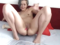 Hot Sexy Tiny Tits Camgirl Amazing Solo Squirt Orgasm