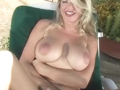 Amazing pornstar Vicky Vette in exotic dp, blonde adult video