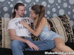 Make Him Cuckold - Taissia Shanti - Cuckolded like a total loser