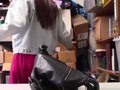 Real teen shoplifter bj