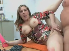 Addicted Mama Cannot Stop Sucking And Riding A Large Boner