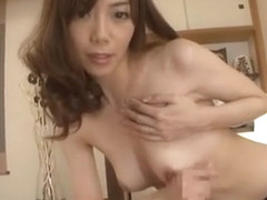 Crazy Japanese model Nachi Sakaki in Best Stockings, Masturbation JAV clip