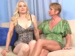 Just A Couple Of 55-Year-Old Fuck Buddies - Honey Ray and Robin Pachino - 50PlusMILFs