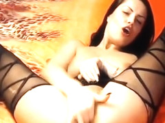 Amateur Latina babe facial drenched in jizz and loving it
