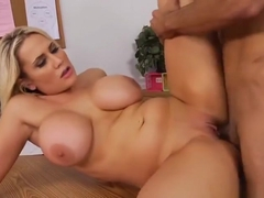 Good-looking tattooed Alanah Rae featuring blowjob video