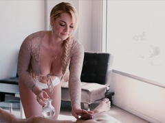 Best pornstars Ginger Elle, Skyla Novea in Incredible College, Big Ass sex video