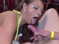 Sexy Susi fucks them all