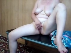 Mature hot milf selfshot masturbation
