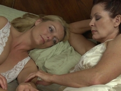 Amazing pornstars Magdalene St. Michaels, Brenda James in Crazy MILF, Fingering porn clip
