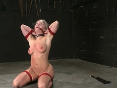 Horny fetish xxx clip with exotic pornstars Dia Zerva and TJ Cummings from Dungeonsex