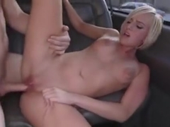Round Butt Blonde Girl Kate England Getting Banged