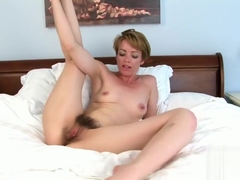 Joely (Maria) lovely British milf spreading for us