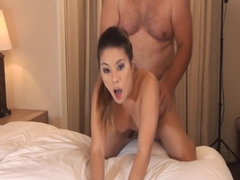 Nikko Jordan Fucks and Sucks Step Daddy with a Big cumshot load on chest!