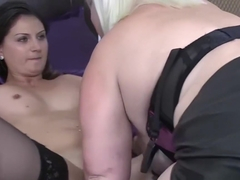 masked cuckold eat black cum