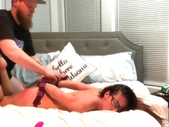 Hotwife Eva Nixon is dominated by her bull until she has EPIC orgasms