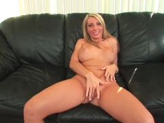 Incredible pornstar Barbie Cummings in fabulous pov, blonde sex video