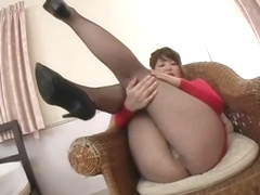 Japanese Av Model Voyeur Through Pantyhose