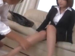 Hottest Japanese model Yuna Hasegawa in Horny Threesomes, Blowjob/Fera JAV video