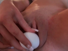 Teen Vanessa Sixxx cooks the squirt juices