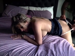 Cory Chase in pulled to the bed Anal