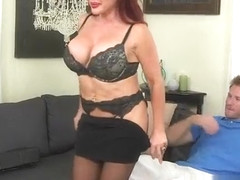 Racked Ginger MILF Vanessa Bella Gets Fucked