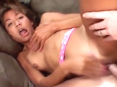 Keanni Lei  Asian Gets Ass Pounded