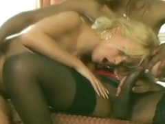 Incredible Amateur Shemale record with Black, Stockings scenes