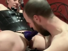 Chastity Slave Fucked Hard with Cum Denial