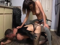Janice Griffith VS God STRAP ON PEGGING