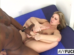 Avy Scott in Avy Scott Has A Nice Little Treat With Some Black Dick - AvyScott