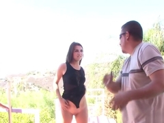 Ariana Grand in Seducing My Step Dad