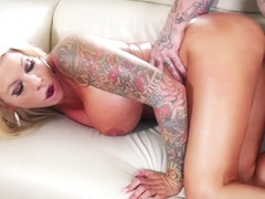 Lolly Ink in Hot Tattoed Milf Gets Some Serious Fucking - LollyInk