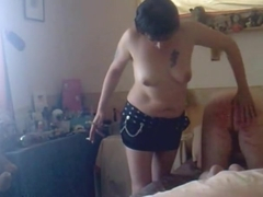 Caned By Wife Topless In Miniskirt - May 2011.mpg