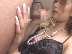 Crazy Japanese chick Nao Yoshizaki in Amazing Blowjob, POV JAV movie