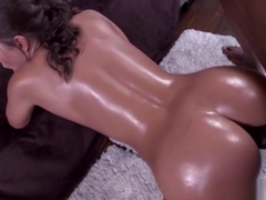 Big white ass Olivia Wilder gets some black dick
