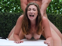 Thick Amateur Pounded And Given Cum In Her Mouth
