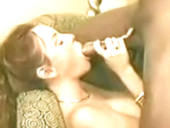 Hot Real Wife Has Black Lover Cum on Wedding Ring Licks it Up Then He Creampies Her Pt 1