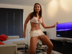 Dancing in Dinari Heels (Pantyhose dance featuring Julie Skyhigh)