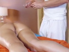 Fetching brunette Katie Jordin having a sex massage