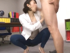 JAV | Nishino Sho - High-Class Cocksucking and Cum Swallowing