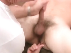 Old guy fingers and sucks off a hot military jock