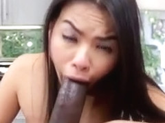 Asian Hoe Cindy Starfall Enjoys Boyfriends Black Cock