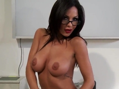 Hot slutty doctor Kirsten Price treats her patient