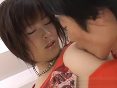Kasumi Uehara hot Asian cheerleader gets felt up and fucked
